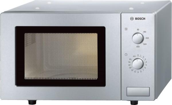 Bosch HMT72M450 Mikrowelle, 800 W, 17 Liter, silber