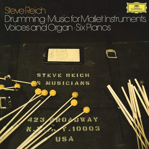 Steve Reich - Drumming+Six Pianos - (Vinyl)