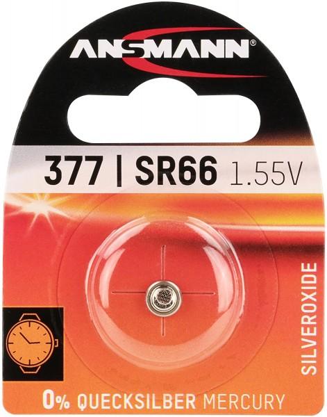 ANSMANN 1516-0019 silberoxid Knopfzelle SR 66/377
