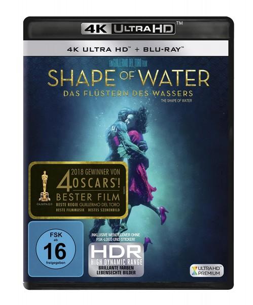 Shape of Water - Das Flüstern des Wassers (4K Ultra HD) [Blu-ray]