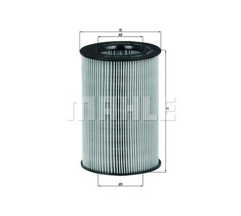 MAHLE LX 813 ORIGINAL Luftfilter