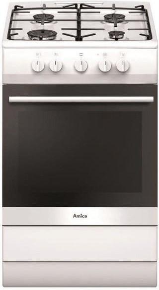 Amica SHGG 11502 W Gas- Standherd, 50cm breit, Weiß