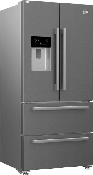 BEKO GNE60530DXN French Door , 182,5 cm hoch, 84 cm breit