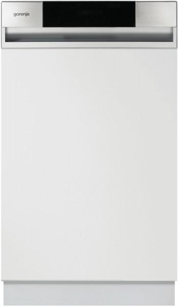 Gorenje GI52010X Geschirrspüler, teilintegriert, 45 cm, A++, silber