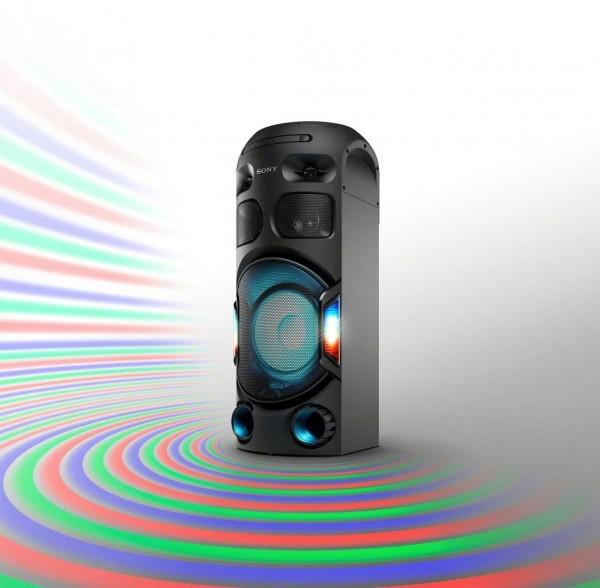 Sony MHC-V42D Premium Bluetooth- Lautsprecher, NFC, Bluetooth, CD, schwarz