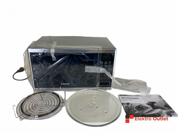 Samsung MG23J5133AT/EG Mikrowelle mit Grill, 23 Liter, 800 Watt, silber