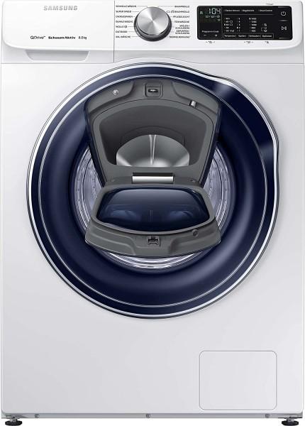 Samsung WW8AM642OPW/EG Waschmaschine, 8kg, A+++, 1400 U/Min., weiß