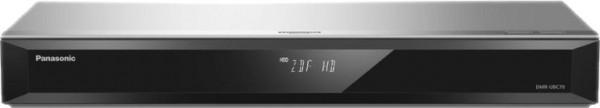 Panasonic DMR-UBC70 EGS UHD Blu-ray Recorder, 4K Upscaling, 500 GB, Silber