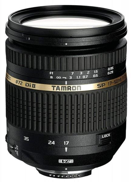 TAMRON SP 17 mm-50 mm f/2.8 Di II, SP (Objektiv für Canon EF-Mount, Schwarz)