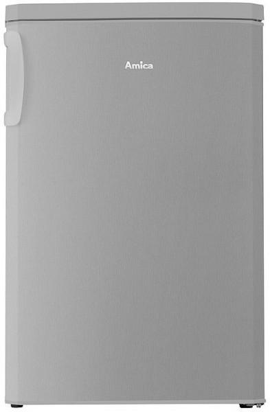 Amica KS 361 110 E Kühlschrank mit Gefrierfach, 85cm hoch, silber