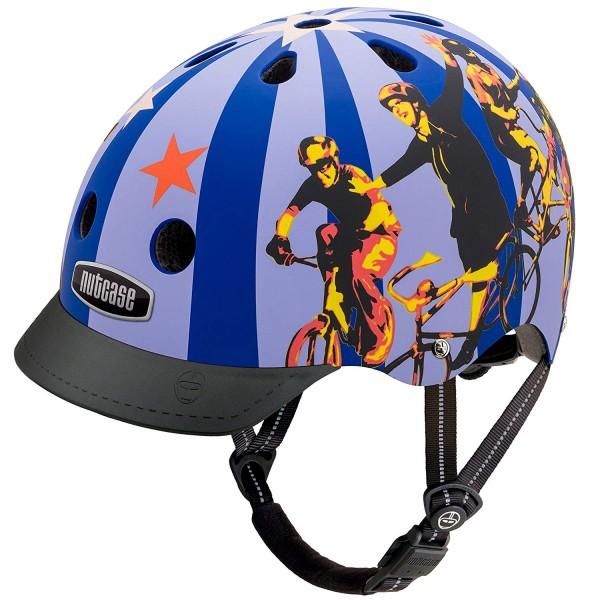 Nutcase Freakalicious Matte Helm für Kinder und Erwachsene, Größe M (56-60cm)