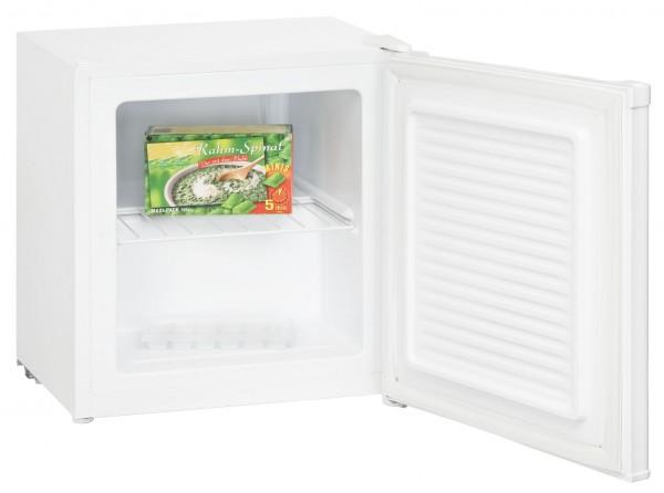 Exquisit GB 05-4.2 A+ Mini Gefrierschrank, Gefrierbox, 34 Liter, Weiß, A+