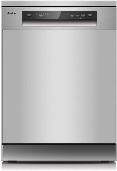 Amica GSP 543 910 SI Geschirrspüler, freistehend, silber