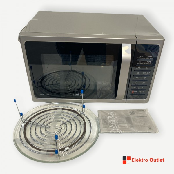 Samsung MC28H5015AS/EG Mikrowelle, Heißluft, Grill, 28 L, 900 W, silber