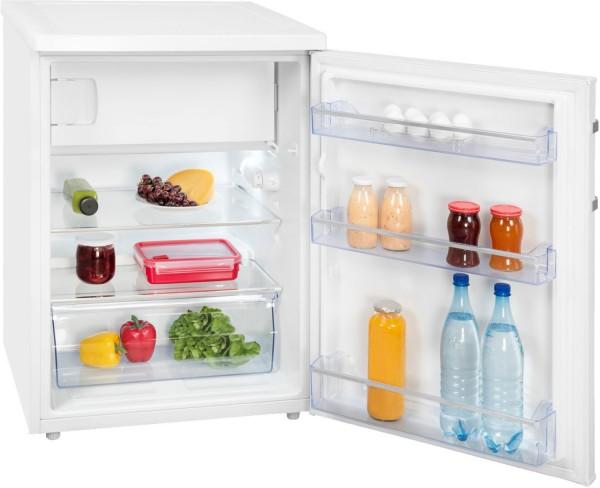 Exquisit KS 18-17 A+++ Kühlschrank mit Gefrierfach, weiß, A+++, 85cm hoch