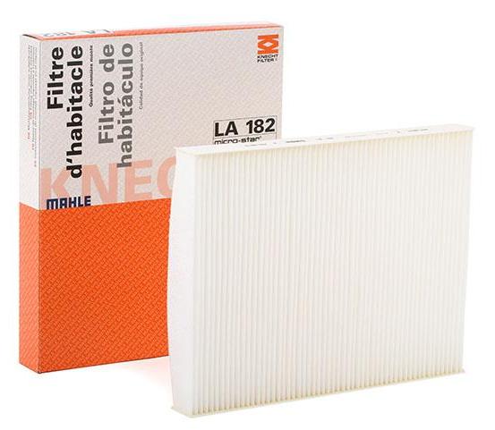 MAHLE ORIGINAL LA 182 Filter, Innenraumluft