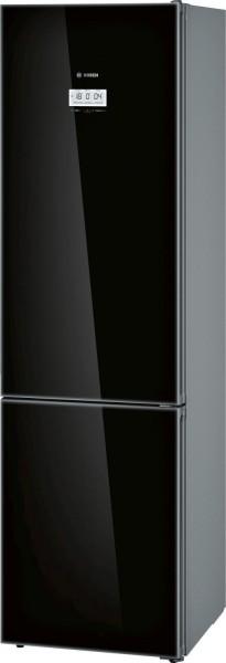 Bosch KGF39SB45 Kühl-/ Gefrierkombination, A+++, 203 cm hoch, Schwarz Glass
