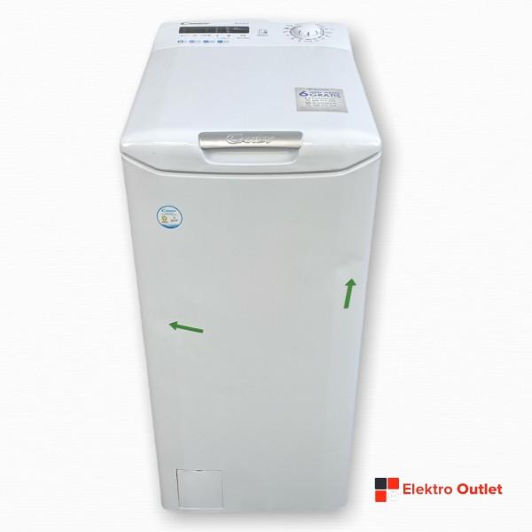 Candy CSTG 482DVE/1-S Waschmaschine-Toplader, 8 kg, 1400 U/min