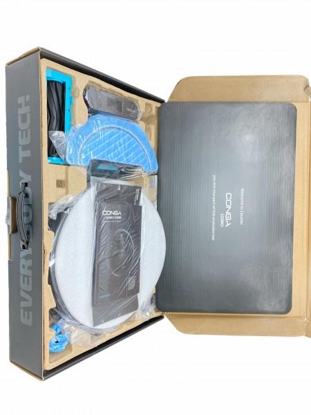 Cecotec Conga 1090 Roboterstaubsauger 500 ml 64 dB 1400 Pa Schwarz