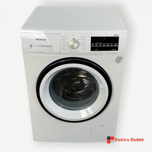 Siemens iQ500 WM14G400 Waschmaschine, 8 kg, 1400 U/Min, C, weiß