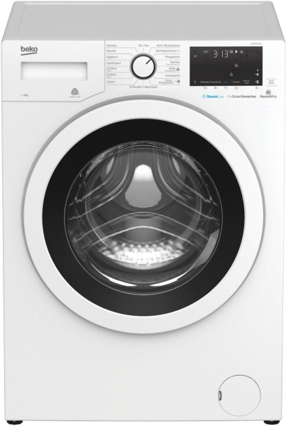 Beko WMY81466ST Waschmaschine, Bluetooth Funktion, 8 kg, 1400 U/Min, Inverter Motor, A+++