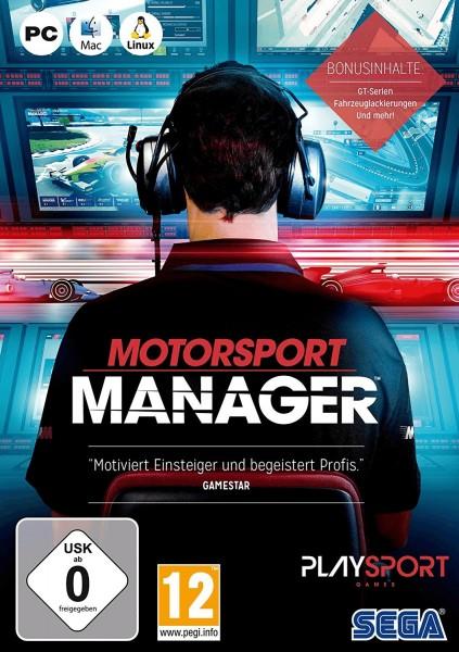 SEGA, Motorsport Manager, PC/Mac