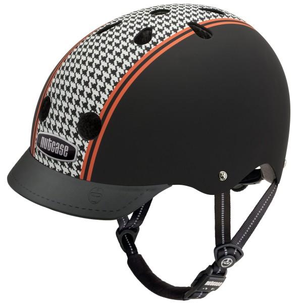 Nutcase - Gen3 - Helluva Houndstooth- Fahrrad - Helm , Größe M(56-60cm)