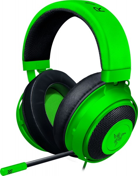 RAZER Kraken, Over-ear Headset Grün
