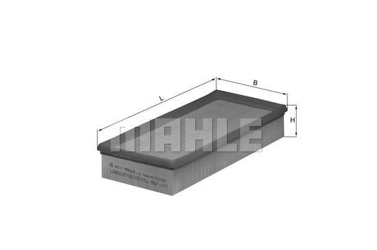 MAHLE LX 408 ORIGINAL Luftfilter