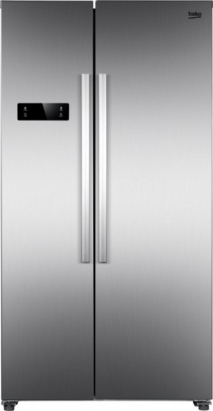 Beko GNO4331XPN Side-by-Side, No Frost, 433 Liter, A++, silber