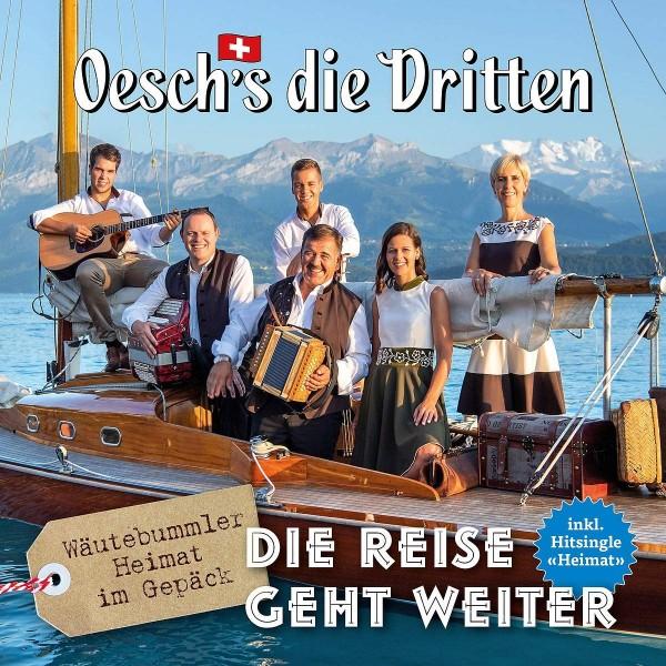 Oesch's Die Dritten - Die Reise Geht Weiter (Vinyl LP)