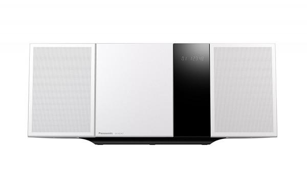 Panasonic SC-HC397 Microanlage, FM-Tuner mit RDS, DAB, 40 W, silber