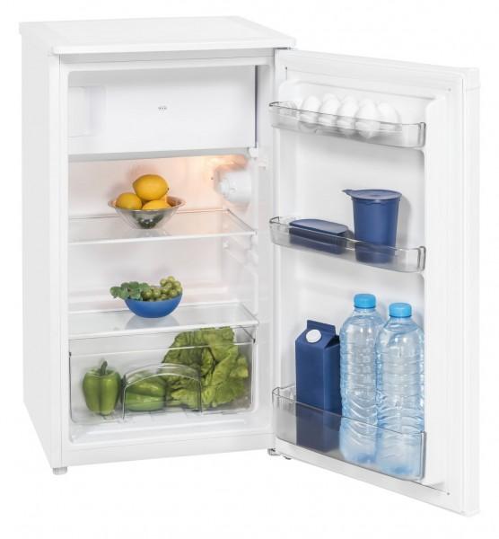Exquisit KS117-4.2 A++ Kühlschrank mit Gefrierfach, 85 cm hoch, weiß