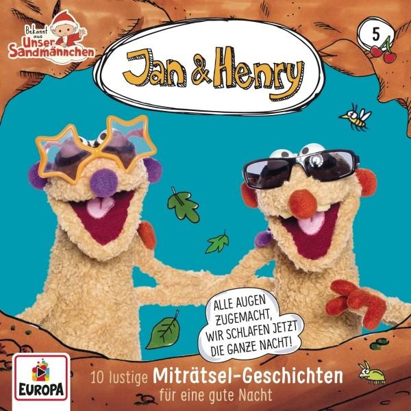 Jan & Henry - 10 lustige Miträtsel-Geschichten für die gute Nacht [Hörbuch-CD]