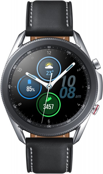 SAMSUNG Galaxy Watch 3 45 mm LTE & Bluetooth Smartwatch Edelstahl ,