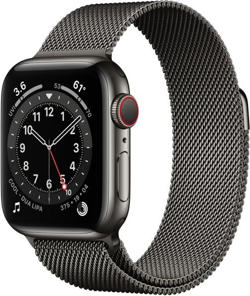 Apple Watch Series 6 (GPS + Cellular) 40mm Smartwatch,