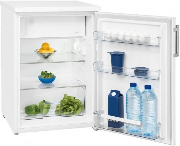 Exquisit KS 16-1 A+++ Kühlschrank mit Gefrierfach, Weiß, A+++