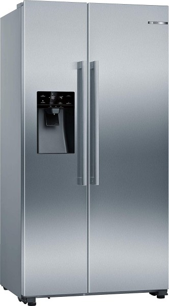 Bosch Serie 6 KAI93VIFP Side-by-Side, No Frost, 533 Liter, A++, Wassertank, silber