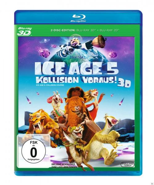Ice Age 5 - Kollision voraus! (3D) [Blu-ray]